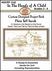 Cover of: Plain Tall Sarah