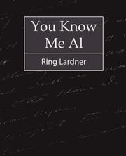 Cover of: You Know Me Al - Ring Lardner