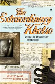 Cover of: The Extraordinary Khotso: Millionaire Medicine Man of Lusikisiki