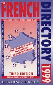 Cover of: The French Directory