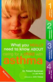 Cover of: Caring for Children with Asthma (What You Really Need to Know About...)