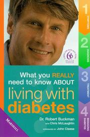 Cover of: Diabetes (What You Really Need to Know About...)