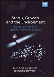 Cover of: Status, Growth and the Environment