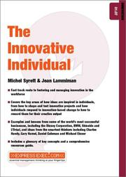 Cover of: The Innovative Individual (Express Exec)