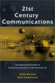 Cover of: 21st Century Communications