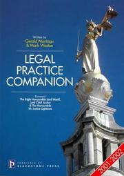 Cover of: Legal Practice Companion (LPC Companions)