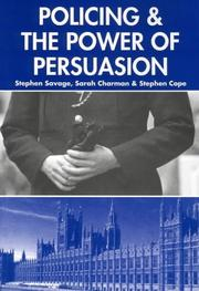 Cover of: Policing and the Powers of Persuasion