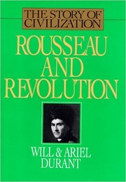 Cover of: Rousseau and the Revolution