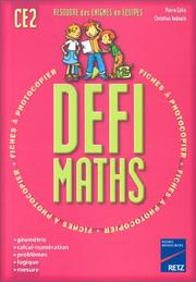 Cover of: Défi maths, CE2