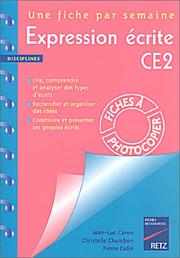 Cover of: Expression écrite, CE2