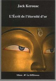 Cover of: L'ecrit de l'éternité d'or