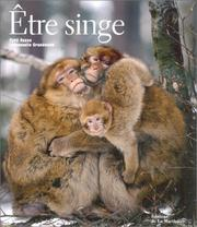 Cover of: Etre singe