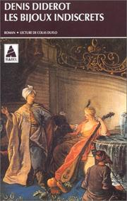 Cover of: Les bijoux indiscrets