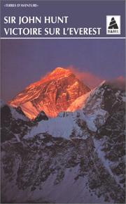 Cover of: Victoire sur l'Everest