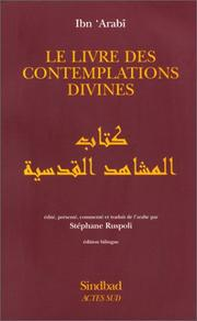 Cover of: Le livre des contemplations divines