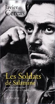 Cover of: Les Soldats de Salamine