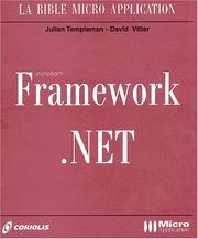 Cover of: Framework.Net (avec CD-Rom)