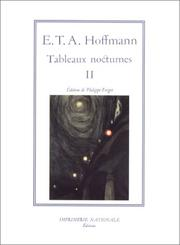 Cover of: Tableaux nocturnes, tome 2