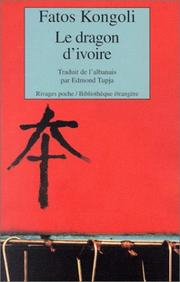 Cover of: Le Dragon d'ivoire