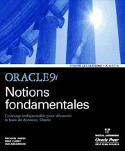 Cover of: Oracle 9i Notions Fondamentales
