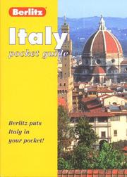 Cover of: Berlitz Italy Pocket Guide