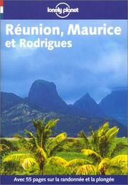Cover of: Reunion Et Maurice (Lonely Planet Travel Guides French Edition)
