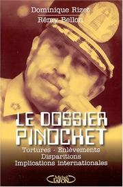 Cover of: Le dossier Pinochet