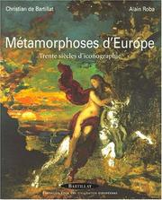 Cover of: Métamorphoses d'Europe