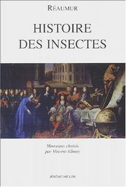 Cover of: Histoire des insectes