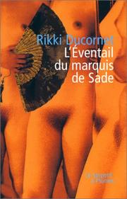 Cover of: L'Eventail du marquis de Sade