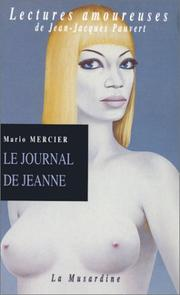 Cover of: Le Journal de Jeanne