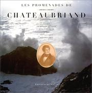Cover of: Les promenades de Chateaubriand