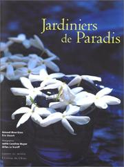Cover of: Jardiniers de paradis
