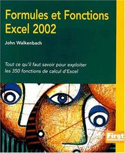 Cover of: Formules et fonctions d'Excel 2002