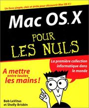 Cover of: Mac OS pour les nuls