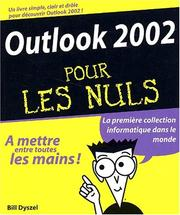 Cover of: Outlook 2002 pour les nuls