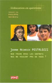 Cover of: L'éducation en question