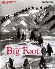Cover of: Sur la piste de Big Foot