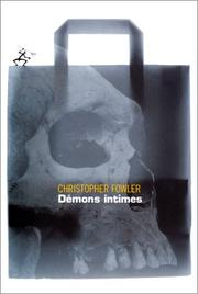 Cover of: Démons intimes