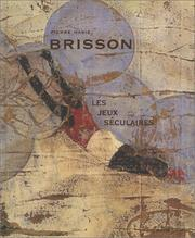 Cover of: Pierre Marie Brisson