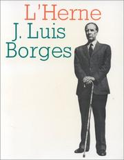 Cover of: Jorge Luis Borges