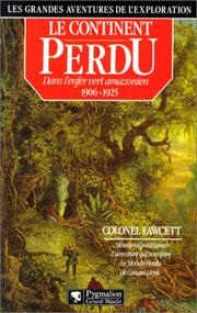 Cover of: Le continent perdu