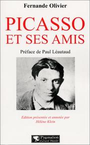 Cover of: Picasso et ses amis
