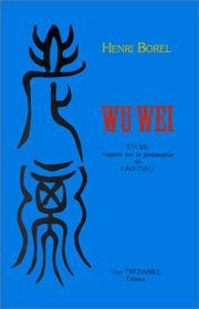 Cover of: Wu wei