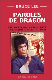 Cover of: Paroles de dragon