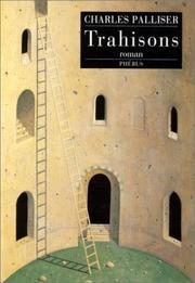 Cover of: Trahisons