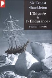 Cover of: L'Odyssée de l'Endurance