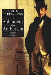 Cover of: La Splendeur des Amberson