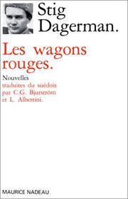 Cover of: Les Wagons rouges
