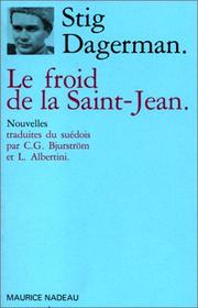 Cover of: Le Froid de la Saint-Jean